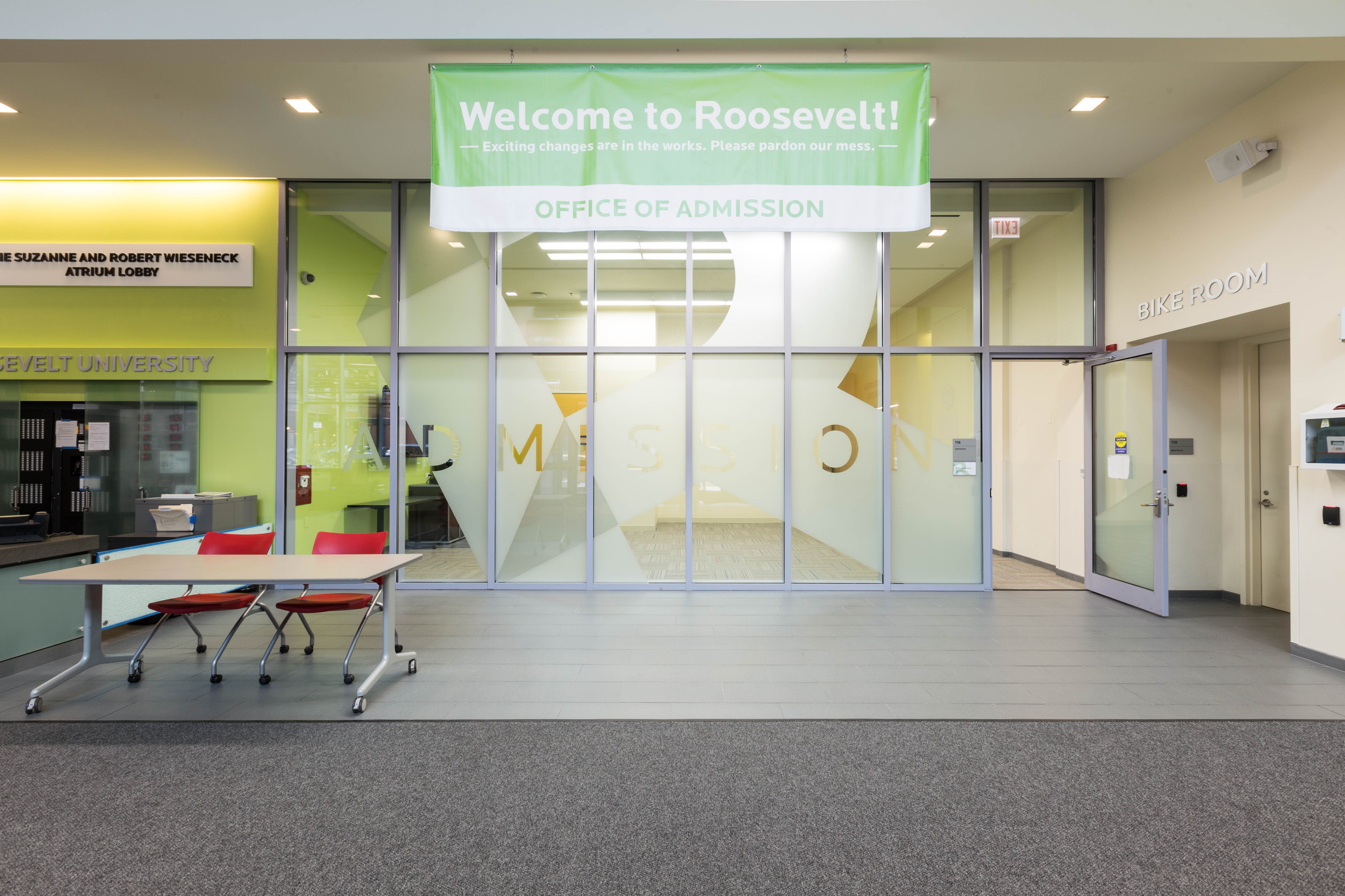 Roosevelt University: Admission's Offices
